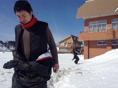 雪合戦する場所もあり(冬期限定・・・笑)