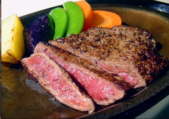 ももステーキ。美味しそう…!